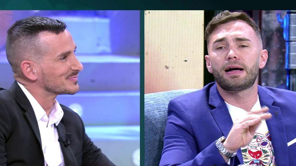 Tenso enfrentamiento entre Cristian Suescun y Sergi Ferré