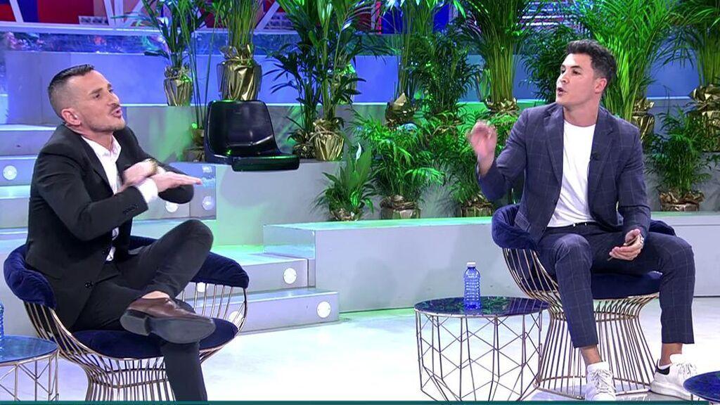 Enfrentamiento entre Sergi Ferré y Kiko Jiménez.