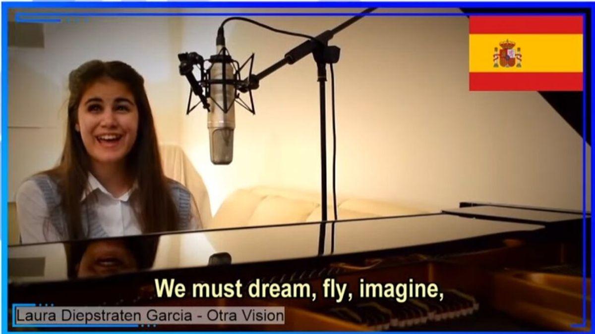 España gana la Eurovisión para artistas ciegos con Laura Diepstraten, la niña de 'La Voz Kids'