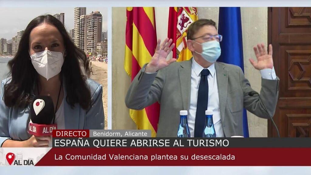 El TSJCV autoriza las medidas de la Comunidad Valenciana, entre ellas el toque de queda a las 01 horas
