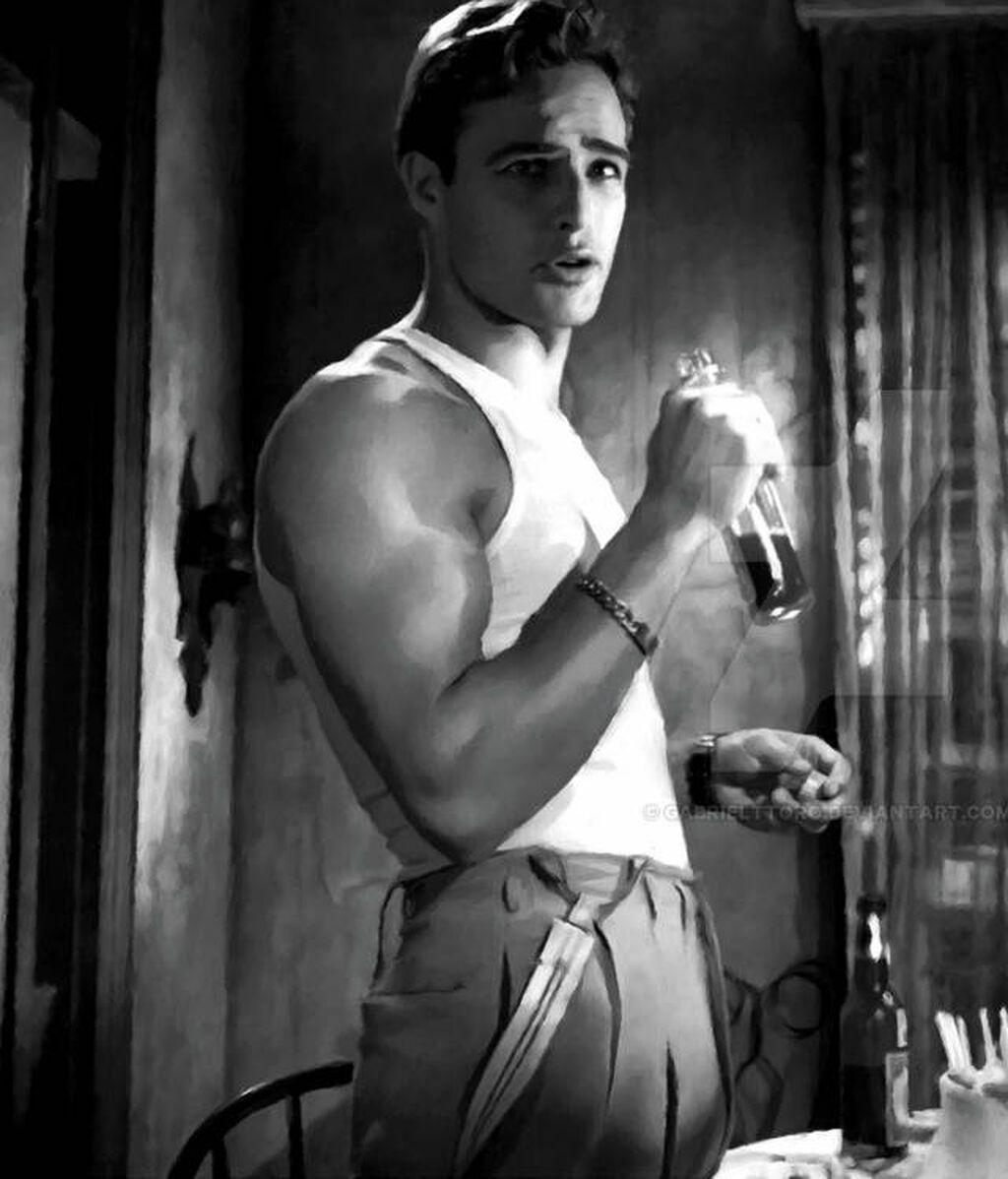Marlon Brando en 'Un tranvía llamado deseo' (1951)
