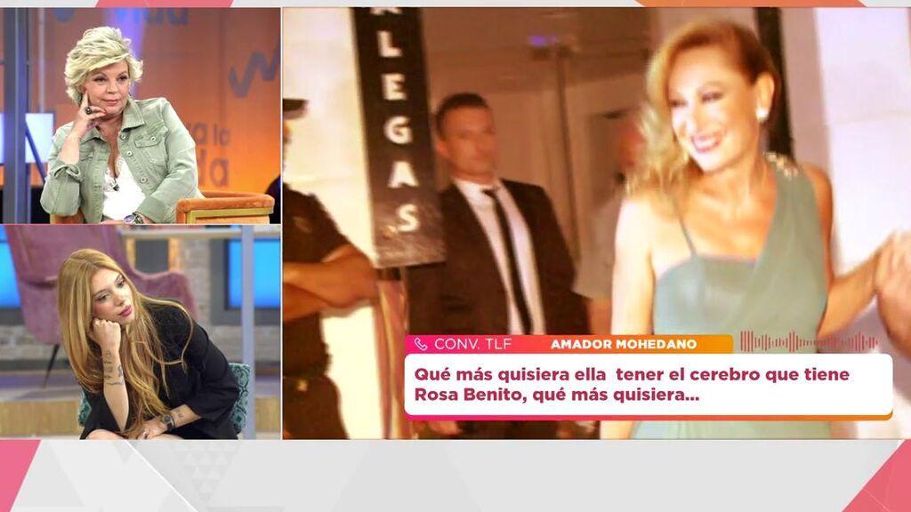Amador Mohedano reacciona a la entrevista de María Teresa Campos