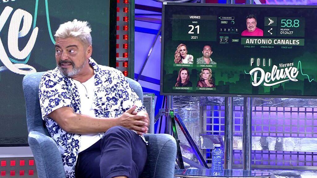 Antonio canales, en 'Viernes Deluxe'.