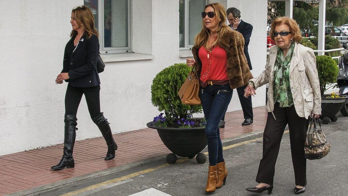 Muere la madre de Ana Obregón un año después de la pérdida de su hijo Aless