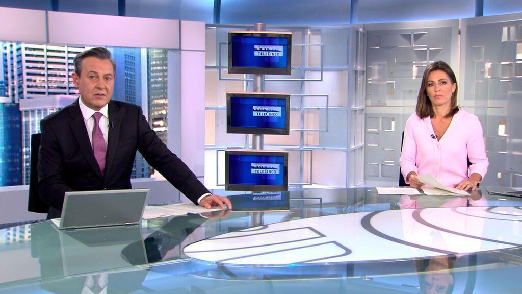 Con José Ribagorda y Ángeles Blanco Informativos Telecinco 2021 Mediodía 23/05/2021