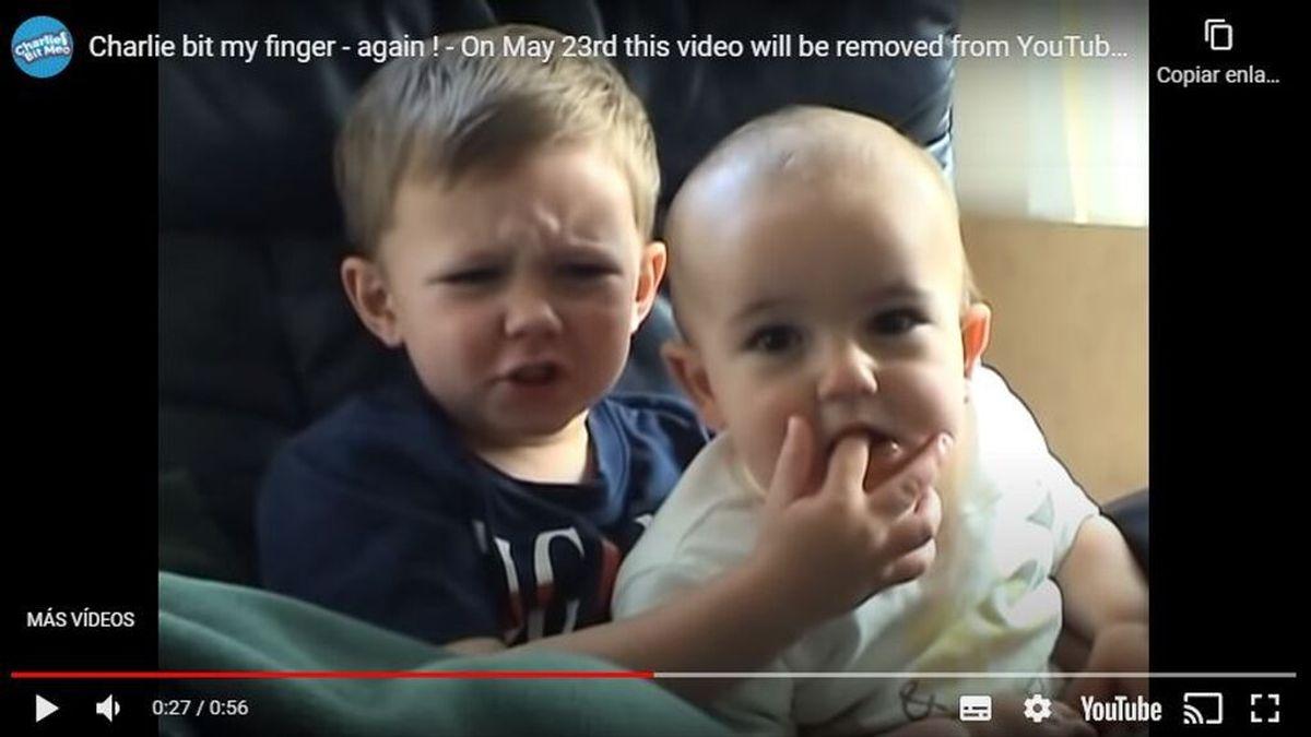 El vídeo viral más visto de YouTube se se vende como NFT 760.000 dólares