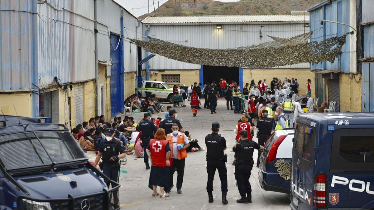 Once marroquíes, nueve de ellos menores, permanecen aislados por Covid en Ceuta