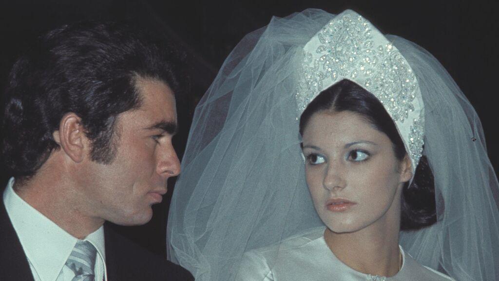 La boda entre ambos fue una de las más multitudinarias.