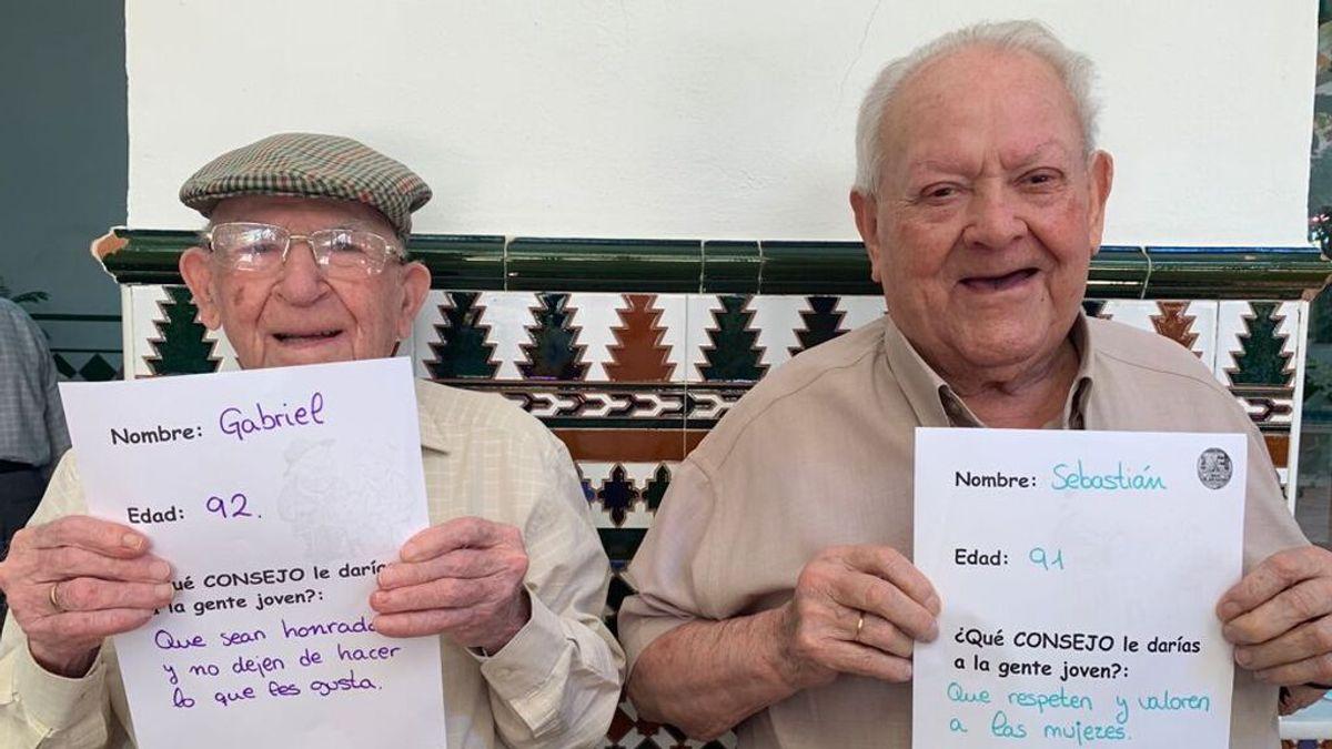 """La voz de la experiencia: """"Cuidemos a los mayores porque todos los seremos algún día"""""""
