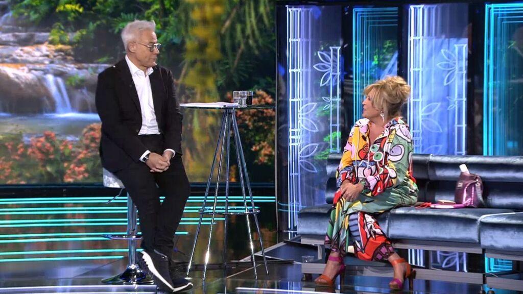 """Jordi González se pone nostálgico y destapa qué le une con Lydia Lozano: """"Llevamos 17 años trabajando juntos"""""""