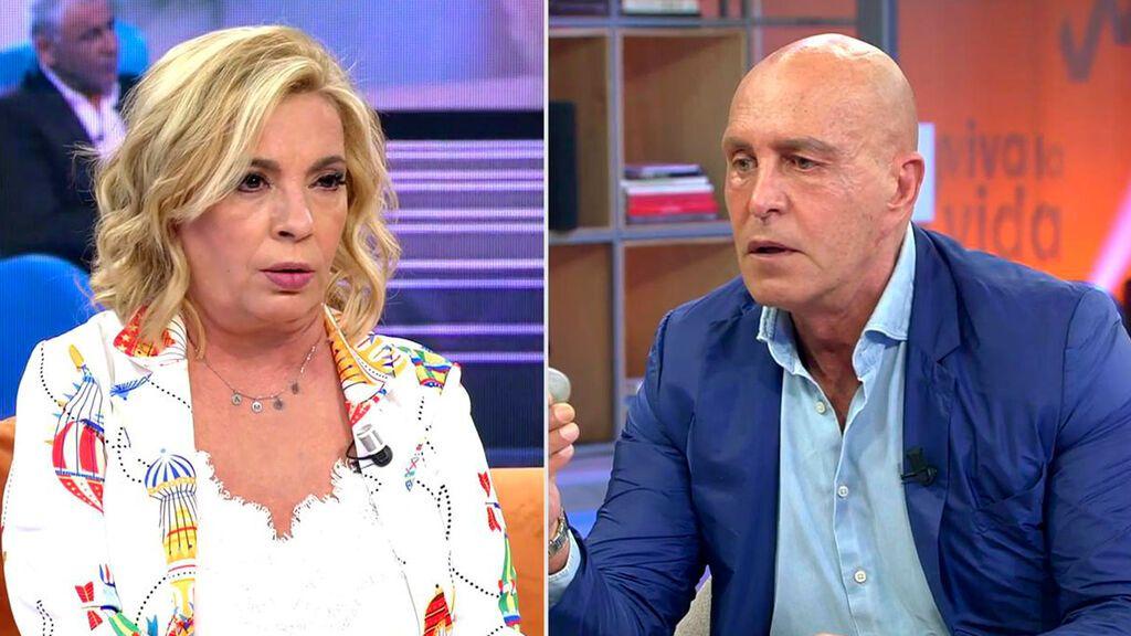 Carmen Borrego se enfrenta a Kiko Matamoros tras llamarla mentirosa Viva la vida 2021 Programa 406