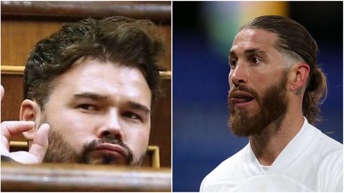 """Gabriel Rufián se mofa de la ausencia de jugadores del Madrid: """"El Tribunal Supremo abre diligencias contra Luis Enrique"""""""