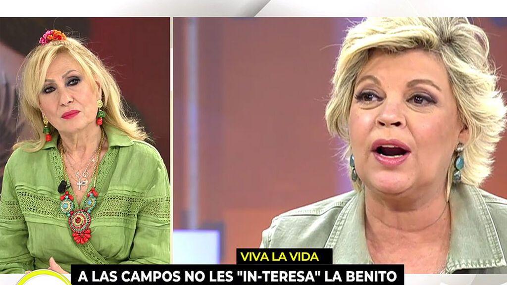 """Rosa Benito responde a las Campos: """"No era amiga de Rocío"""""""