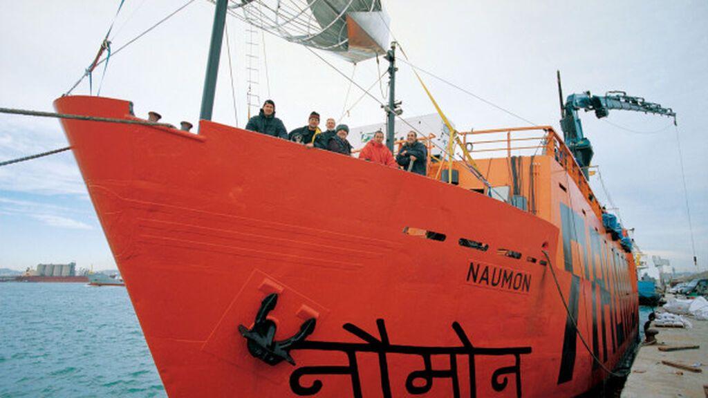 El barco La Naumon