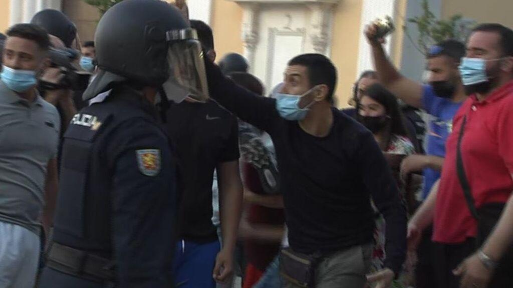 Tensión en Ceuta por la presencia de Abascal