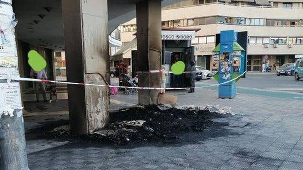 Solidaridad con el senegalés al que quemaron su quiosco en Sevilla