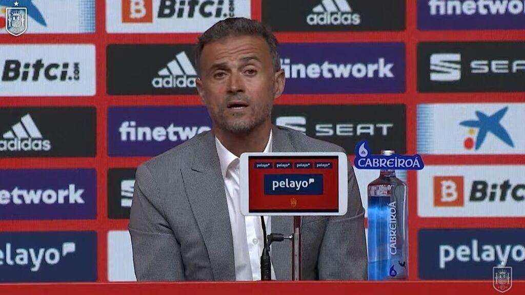 Luis Enrique explicó la ausencia de Ramos