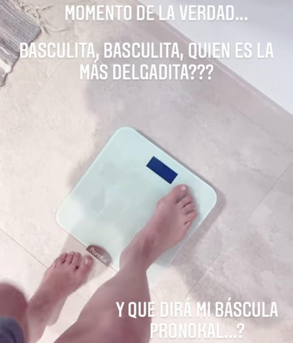 El peso actual de Shaila Dúrcal