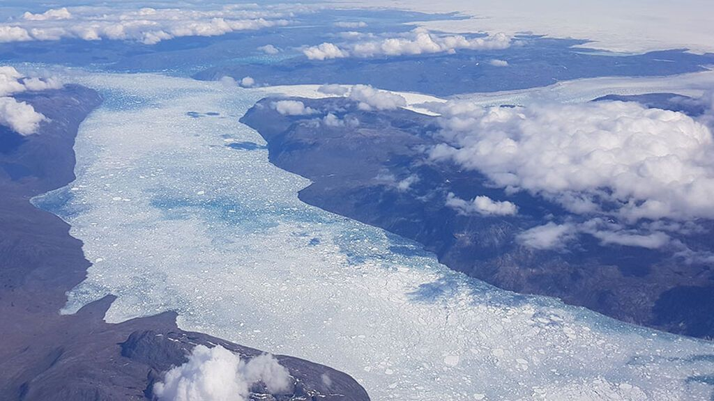 Hallazgo inesperado en Groenlandia: el mercurio contamina las aguas de glaciares derretidos