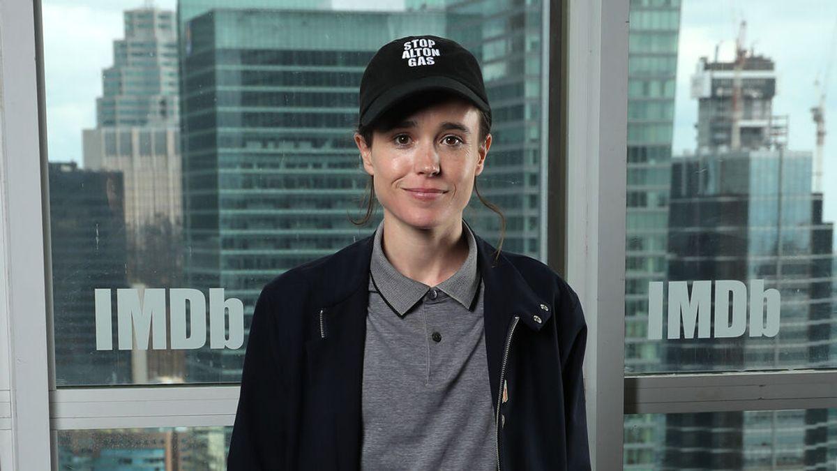 El actor transgénero Elliot Page comparte su primera foto sin camiseta tras su operación de pecho