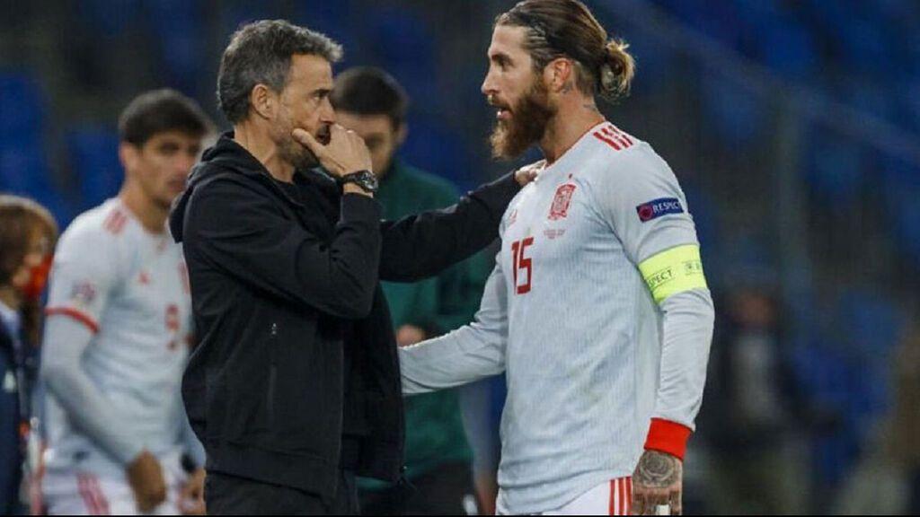 Sergio Ramos se siente traicionado por Luis Enrique: la tensa conversación entre jugador y seleccionador