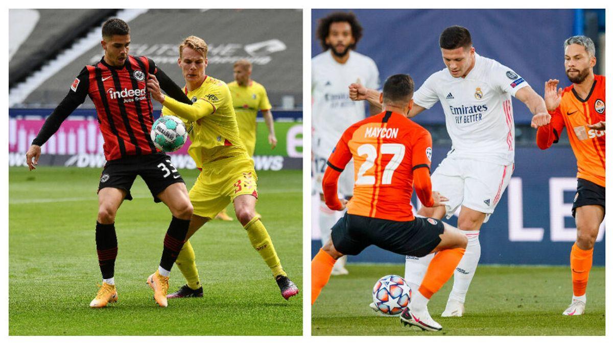 Jovic, por André Silva: el trueque de jugadores que el Eintracht le propone al Real Madrid