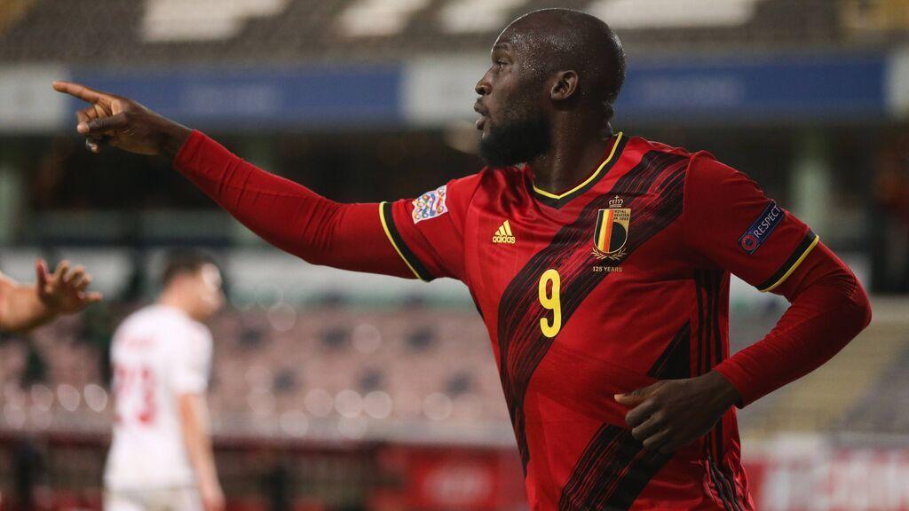 Lukaku es la gran referencia de Bélgica en ataque.