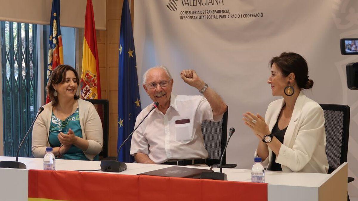 Muere a los 101 años Josep Almudéver, el último brigadista internacional