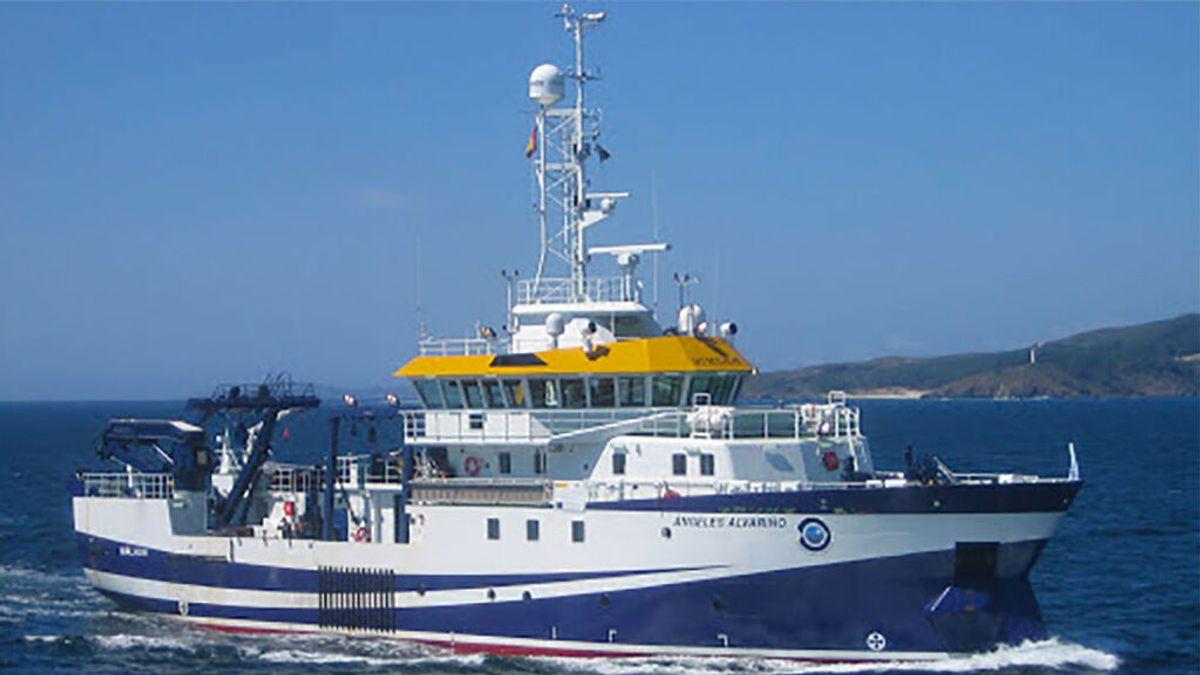 El buque oceanográfico Ángeles Alvariño se une a la búsqueda de las niñas de Tenerife