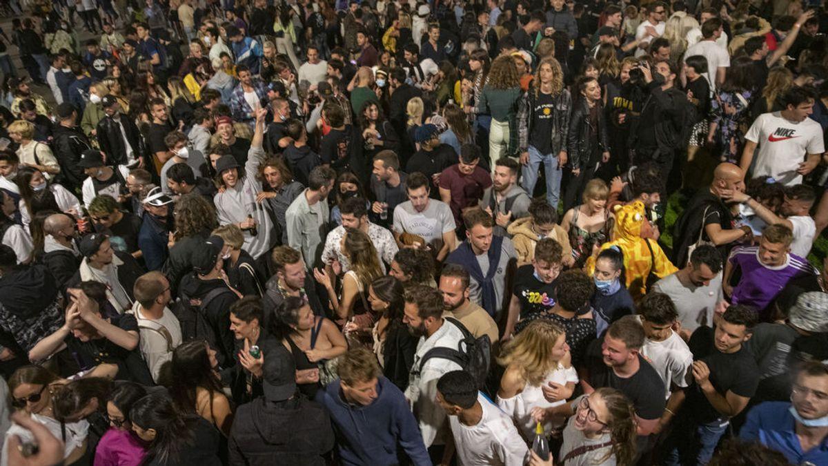 Las fiestas del final del estado de alarma truncan la bajada de contagios