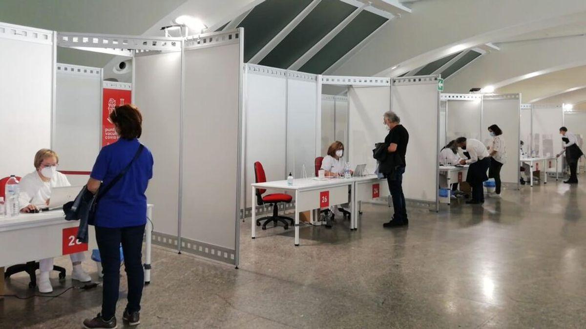 La Comunidad Valenciana preparada para administrar medio millón de dosis a la semana, 400 cada minuto
