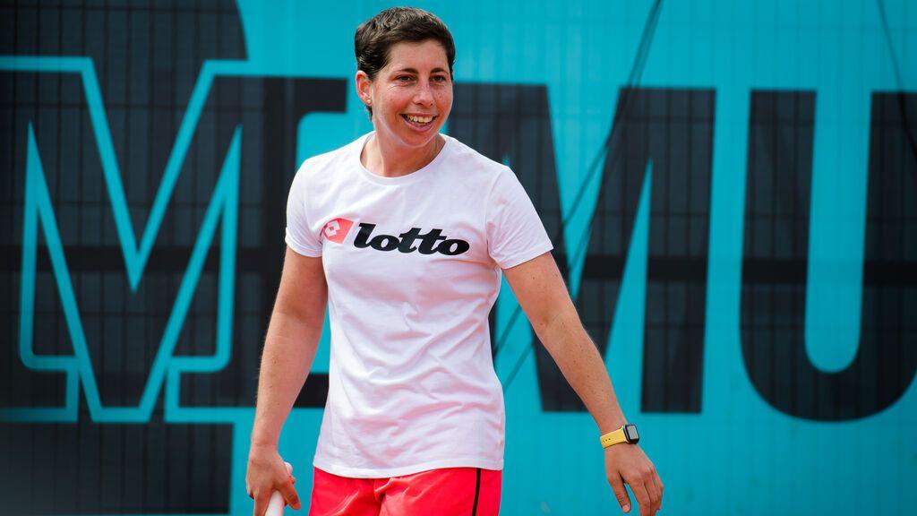 La tenista Carla Suárez salta a la pista de Roland Garros tras 17 meses sin competir
