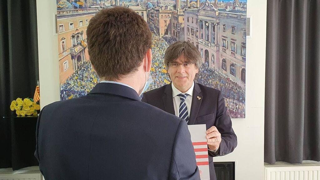 Puigdemont pide al nuevo Govern de la Generalitat que confronte con el Estado