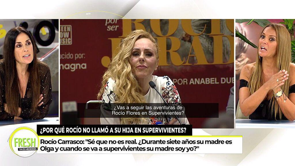 """Isabel Rábago no se muerde la lengua con Marta López: """"Sigues juzgando a Rocío Carrasco como madre"""""""
