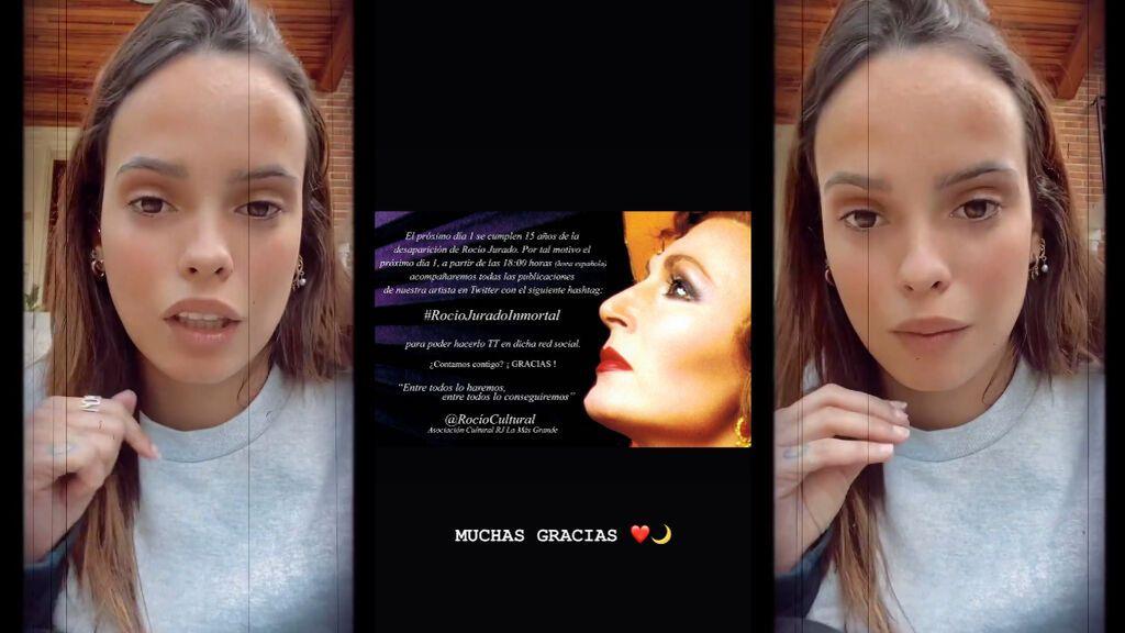 La acción en redes que Gloria Camila ha anunciado para homenajear a su madre