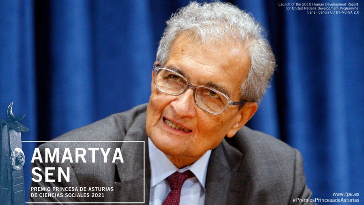 El economista Amartya Kumar Sen, premio Princesa de Asturias de Ciencias Sociales 2021