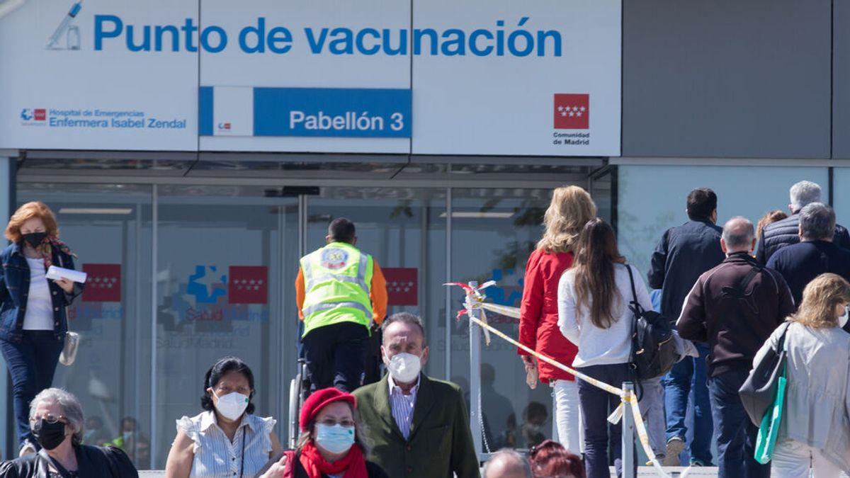 Madrid citará a partir de la semana que viene para poner las segundas dosis de AstraZeneca en el Zendal