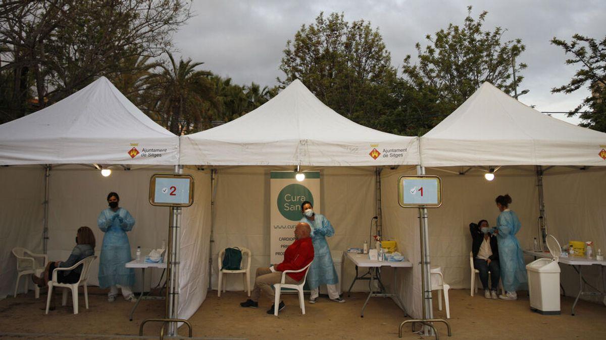 Los contagios de coronavirus siguen estabilizados en España
