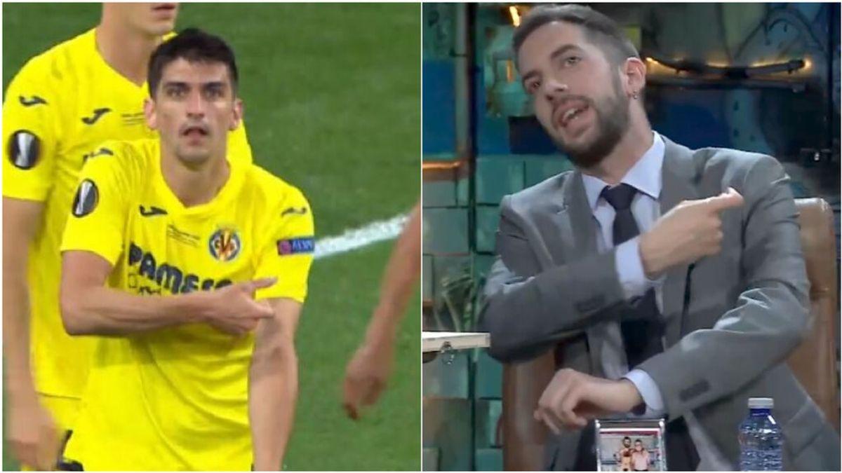 Gerard Moreno cumple su promesa a David Broncano y le dedica el gol de la final