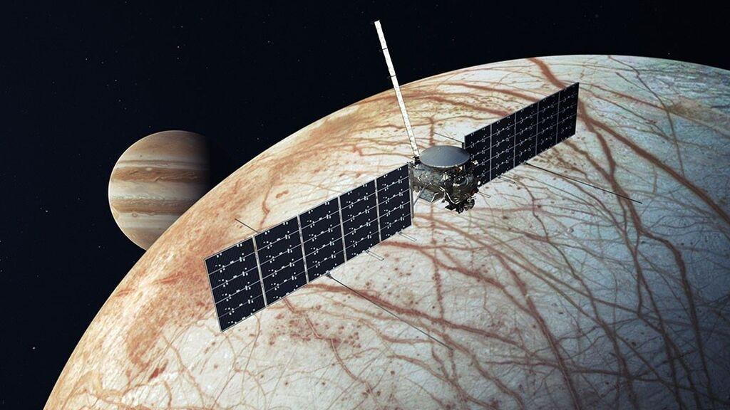 Sospechan que existe actividad volcánica en el mundo acuático 'Europa', la luna de Júpiter