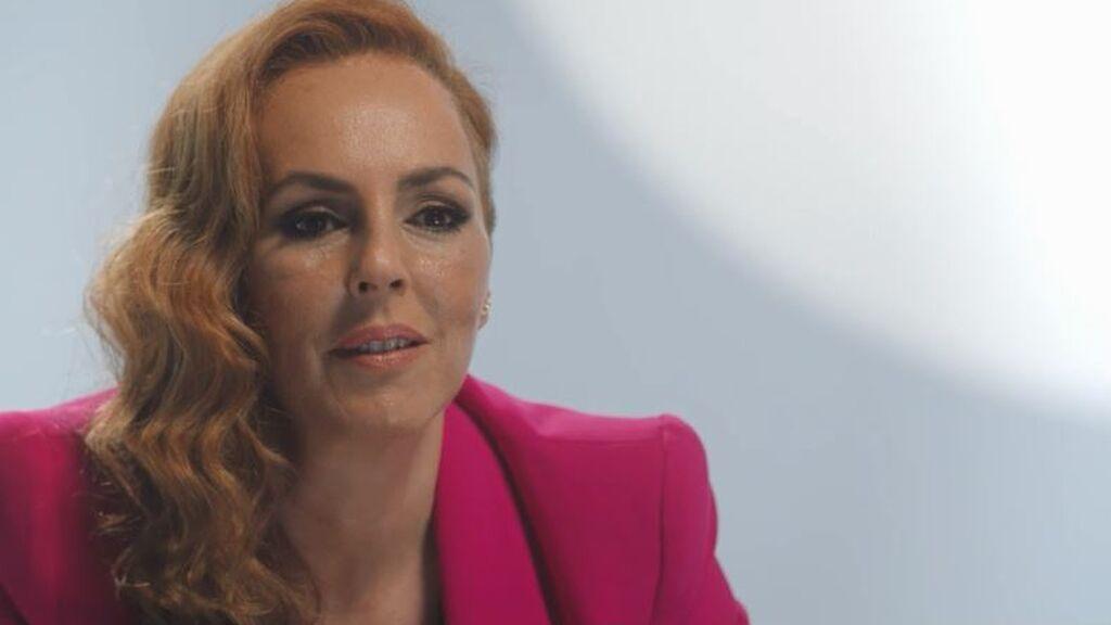 Rocío pronuncia el nombre de su exmarido por primera vez