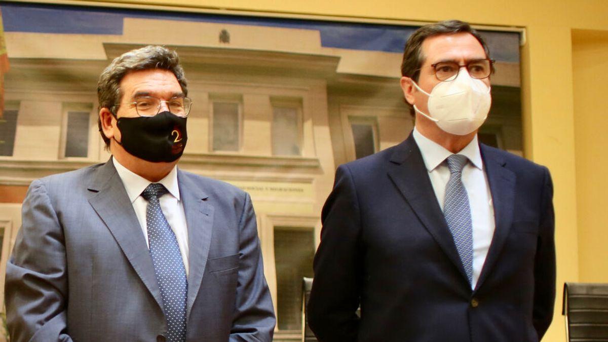 José Luis Escrivá y Antonio Garamendi