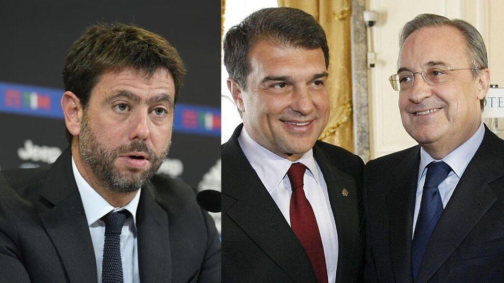 """Madrid, Barcelona y Juventus denuncian """"coacciones"""" y ven """"incompresible"""" el expediente disciplinario"""