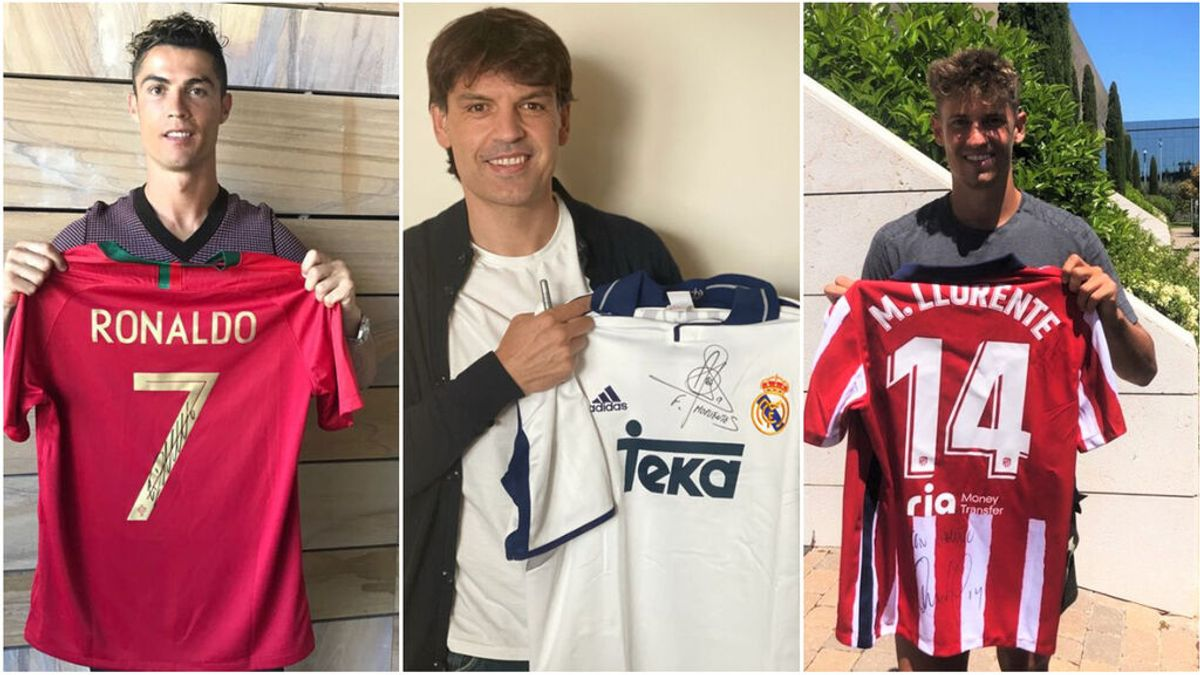 Messi, Cristiano Ronaldo, Llorente o Moriente, entre otros, se unen para ayudar a 4 ONGs