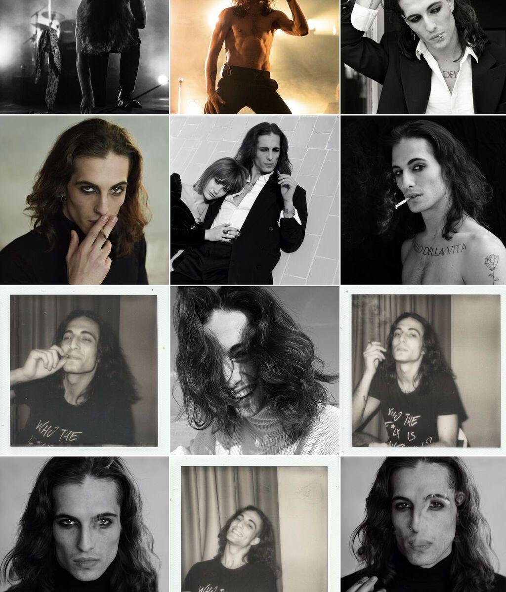 Damiano David, en imágenes de Instagram