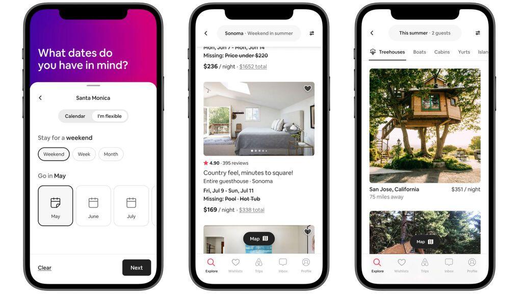 Airbnb añade nuevas funcionalidades