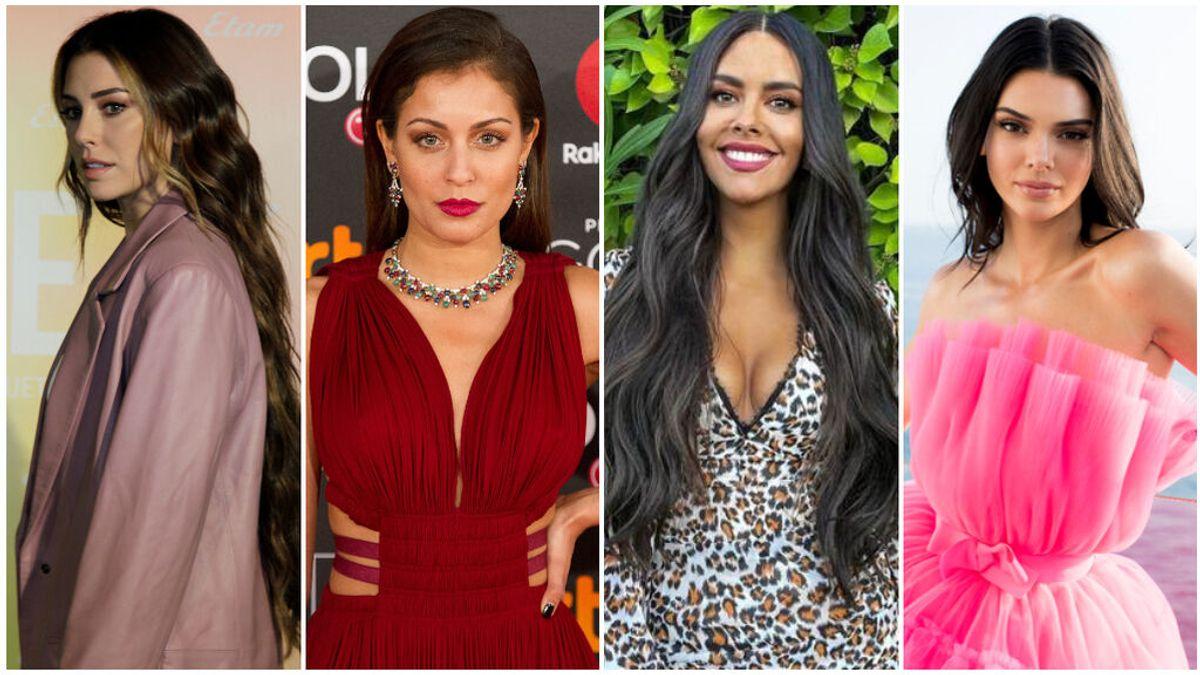 El espectacular cambio de los famosos con y sin maquillaje, el antes y el después en fotos de Blanca Suárez, Cristina Pedroche o Hiba Abouk.
