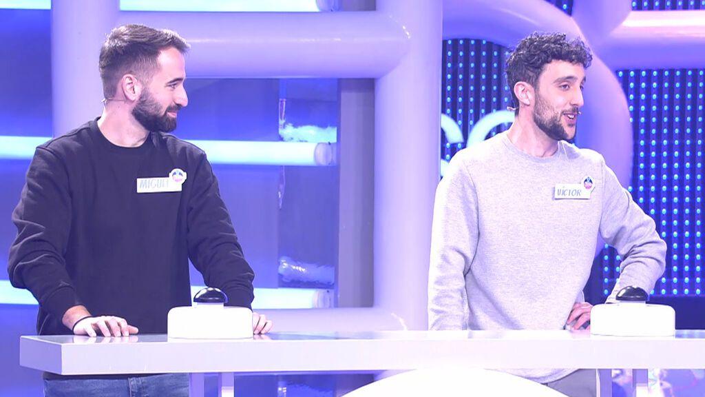Miguel y Víctor El concurso del año Temporada 3 Programa 500