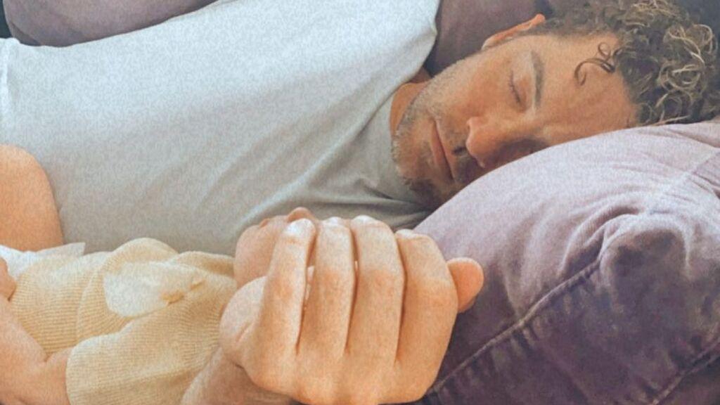 El truco de David Bisbal para dormir a su hija Bianca