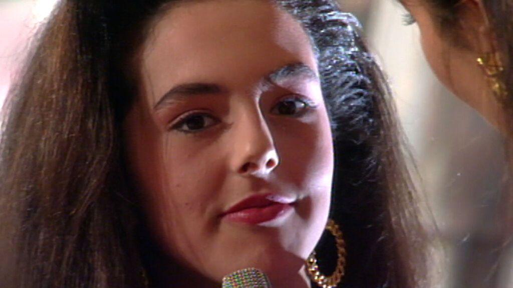 El debut de Rocío Carrasco como modelo en Telecinco